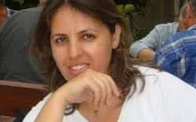 Tamar Peretz-Levi, 49, de Lod, que morreu do coronavírus em 31 de março de 2020. (cortesia)