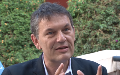 Newly appointed UNRWA head Philippe Lazzarini (YouTube screenshot)