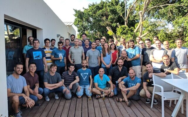 The development team of VAST Data in Israel (Courtesy)
