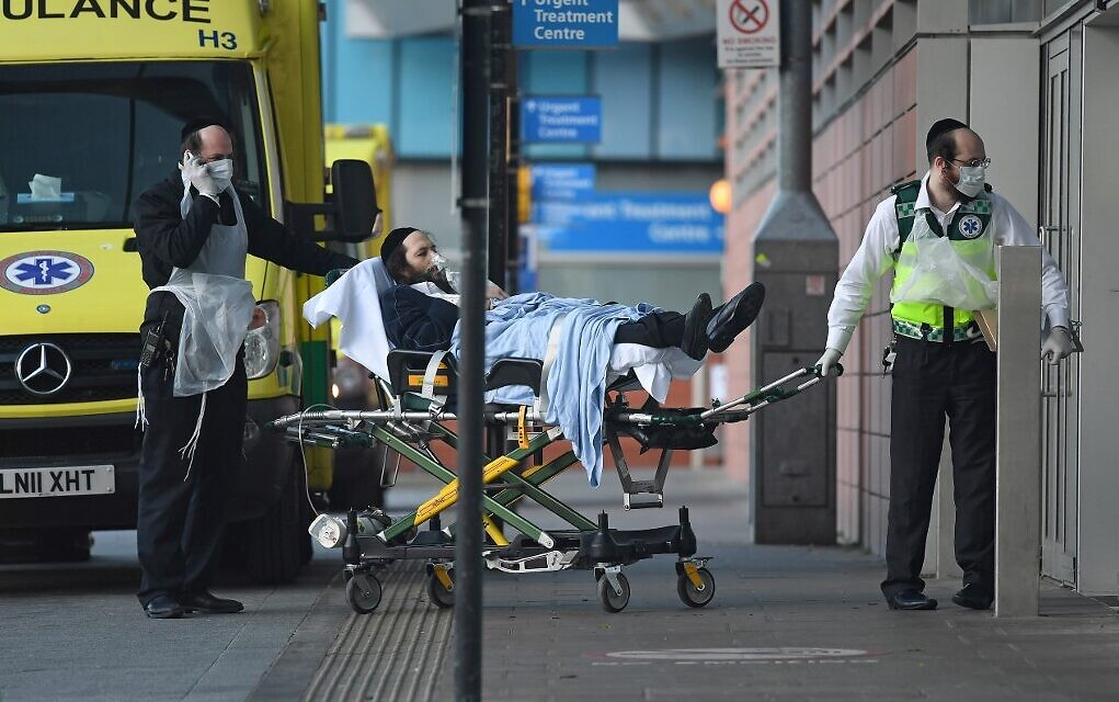 Jews, other religious minorities have higher COVID-19 death rate, UK study  says | The Times of Israel