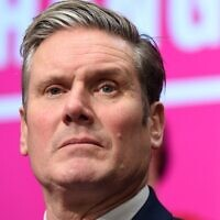In this file photo taken on November 21, 2019 Britain's Labour Party shadow Secretary of State for Exiting the EU Keir Starmer attends the launch of the Labour party election manifesto in Birmingham, northwest England (Oli SCARFF / AFP)
