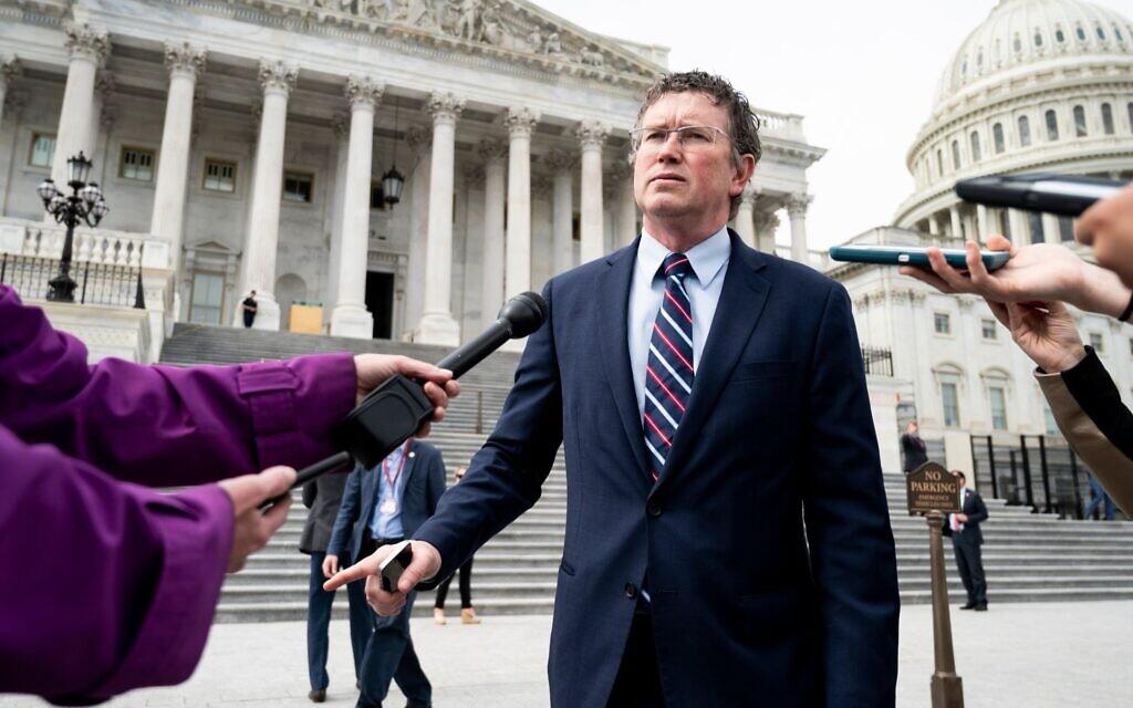 In rare move, Republican Jewish Coalition targets a GOP congressman in primary