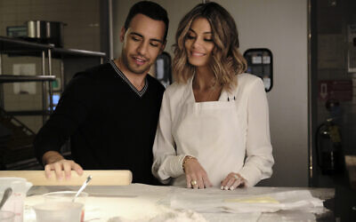 Victor Rasuk and Nathalie Kelley in ABC's new modern-day fairy tale 'The Baker and the Beauty.' (ABC/Guy D'Alema)