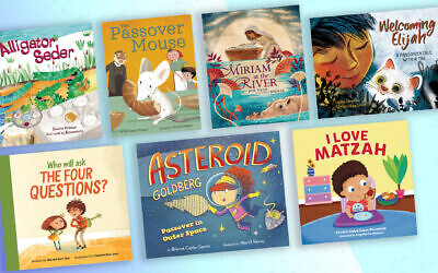 These are some of the new children's books for Passover this year. (Photos courtesy of their publishers/ via JTA)