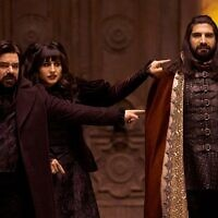 A scene from FX's 'What We Do in the Shadows' (Courtesy of FX. via JTA)