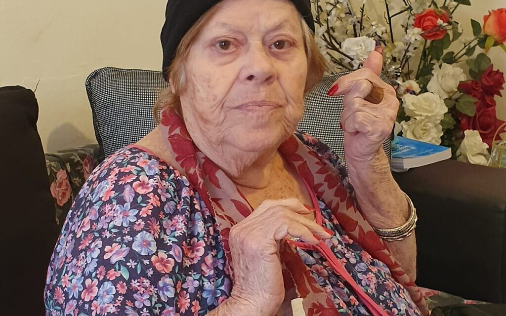 92-year-old Auschwitz survivor Malka Zaken. (Courtesy)