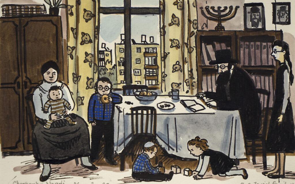 'A Jewish Family' by Zoya Cherkassky (Courtesy of the artist)