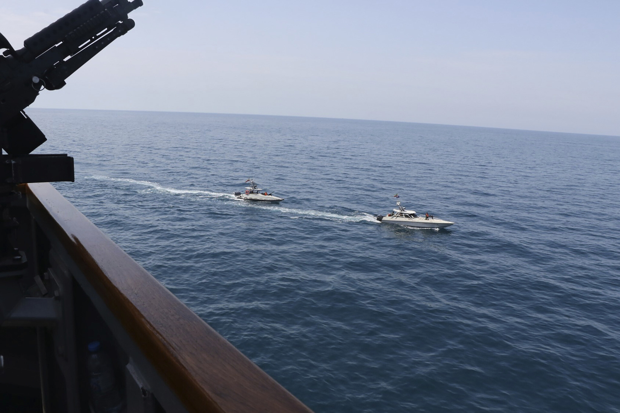 Iran says USA ships started provocation