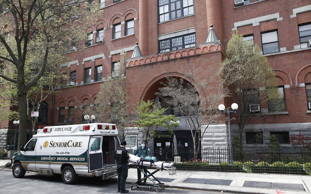 'Under siege': Overwhelmed Brooklyn care home tolls 55 dead, likely from virus