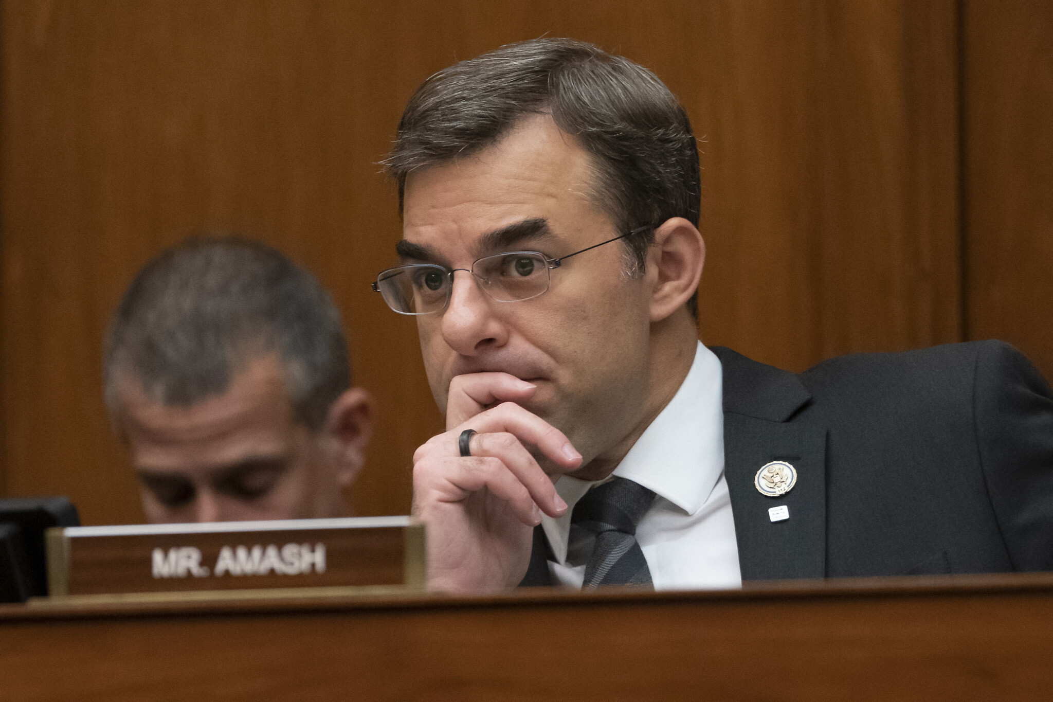 Amash dismisses concerns that his candidacy will help re-elect Trump