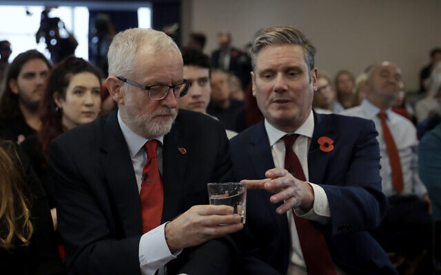 Britain's Labour Party names Sir Keir Starmer as new leader