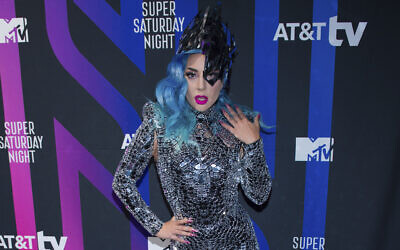 Lady Gaga attends the AT&T TV Super Saturday Night at Meridian on Island Gardens in Miami, February 1, 2020 (Photo by Scott Roth/Invision/AP)