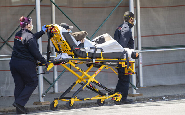 Cuomo says threat that virus will overwhelm New York hospital system averted
