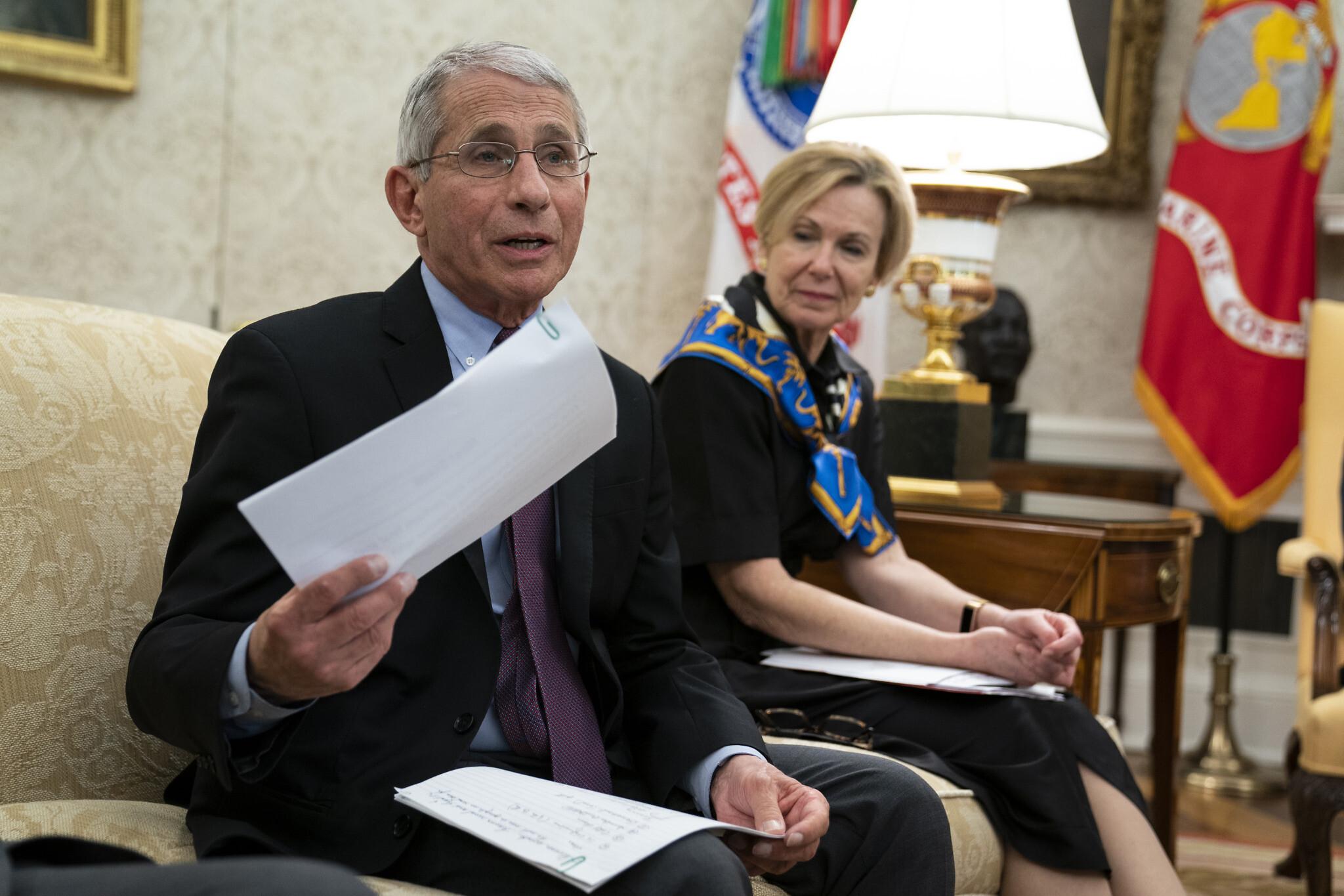 White House blocks Fauci from testifying next week