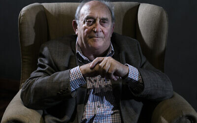 In this July 8, 2013, photo Denis Goldberg, a friend and prisoner with former South African President Nelson Mandela, attends an event of the 50th anniversary of the raid against him and other former African National Congress leaders at the Liliesleaf Farm in the outskirts of Johannesburg, South Africa.  (AP Photo/Markus Schreiber/File)