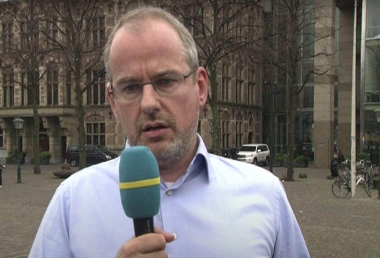 Screen capture from video of Dutch-Muslim politician Arnoud van Doorn. (YouTube)