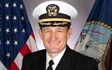 Captain Brett Crozier. Public Domain/Wikipedia)