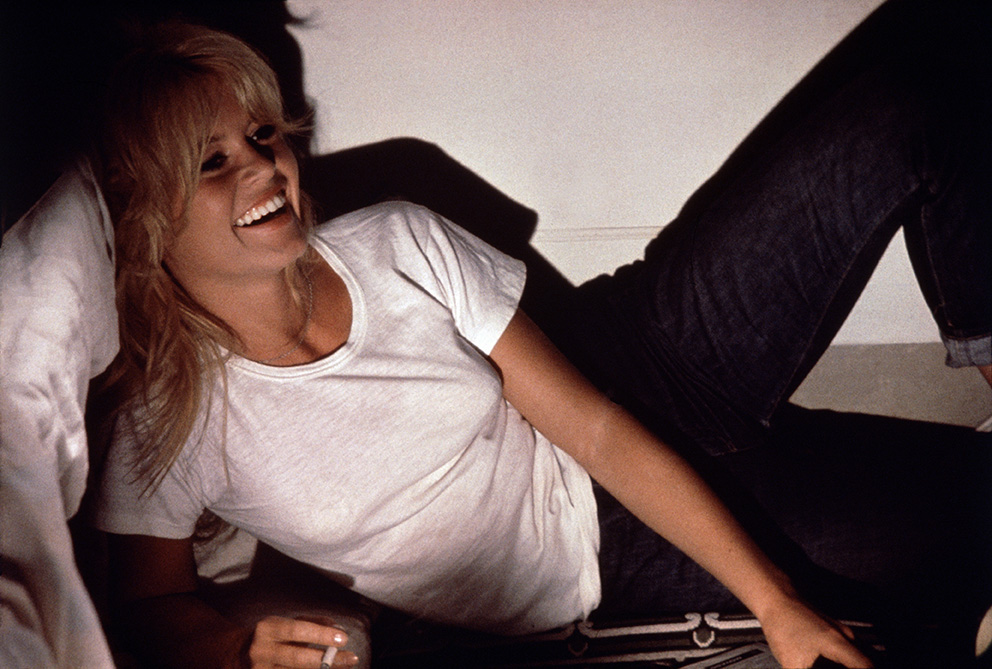 Brigitte Bardot on the 1961 set of 'A Very Private Affair.' (©Henri Dauman/ daumanpictures.com All rights reserved)