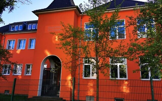 This building will house a Jewish day school in Dortmund, Germany -- the first Jewish school in the city since the Nazis closed the last one 80 years ago. (Courtesy of Ohr Torah Stone)