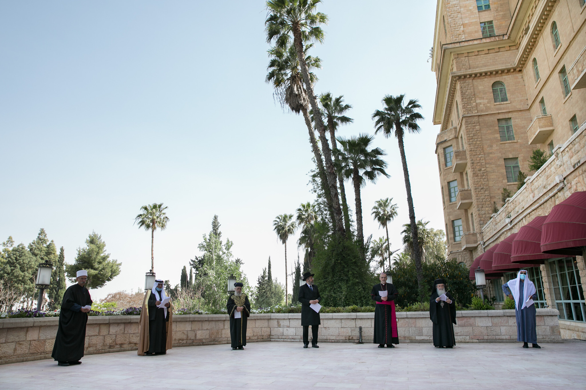 Avert the plague': Religious leaders in J'lem say joint prayer ...