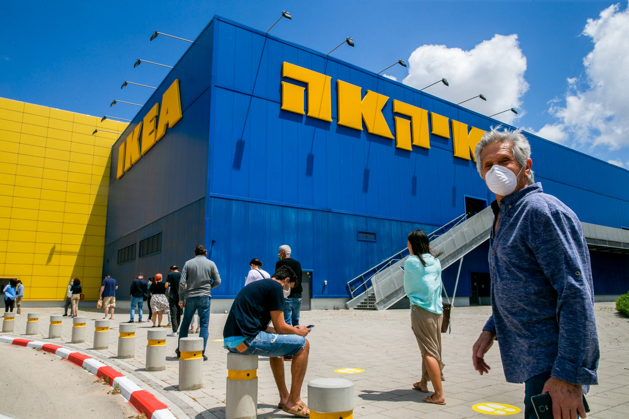Authorities looking to punish man who shopped at IKEA knowing he was sick |  The Times of Israel