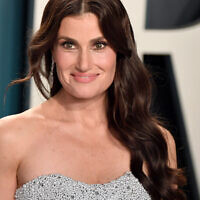Idina Menzel attends the 2020 Vanity Fair Oscar Party in Beverly Hills, Calif., Feb. 9, 2020. (Karwai Tang/Getty Images via JTA)