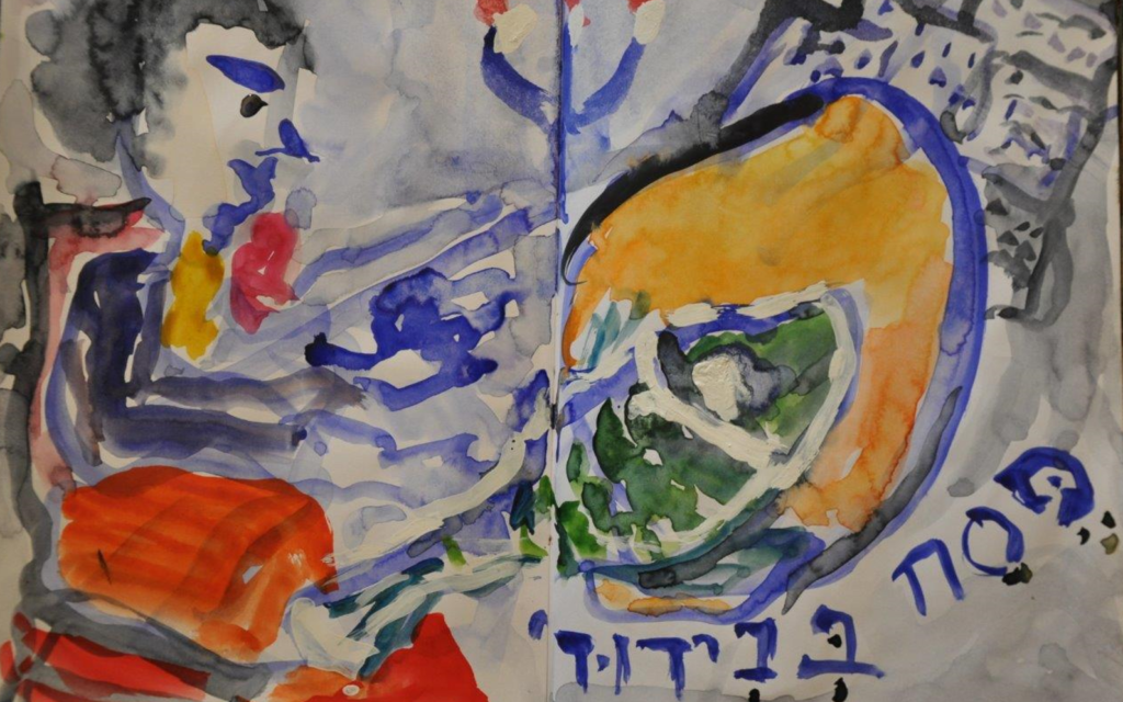Passover in isolation by Sara Meltzer (Courtesy)