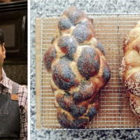Sudeep Agarwala is a yeast scientist and challah enthusiast whose guidance for home bakers has taken off online. (Courtesy of Agarwala/ via JTA)