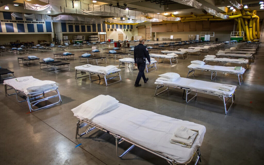 As virus surges, field hospitals emerge across US; now they need staff
