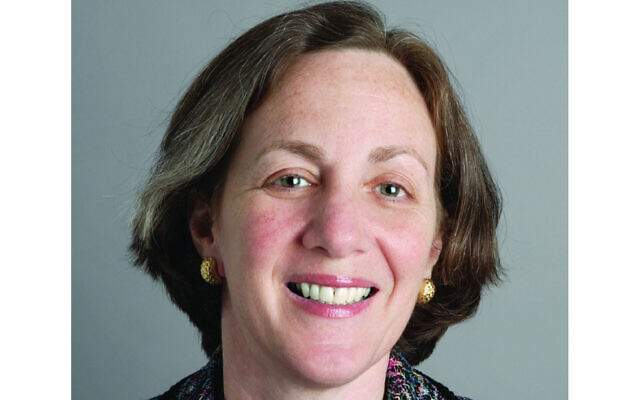 Dianne Lob's HIAS group has been the lead plaintiff in lawsuits trying to inhibit the Trump administration's immigration initiatives. (Conference of Presidents of Major American Jewish Organizations via JTA)