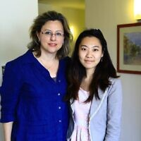 Betty Xi (right) and Danielle Gurevitch (Courtesy)