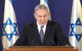 Prime Minister Benjamin Netanyahu addresses the nation about the coronavirus pandemic, April 1, 2020 (Screen grab)