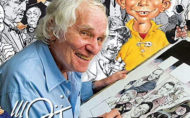 Mad magazine cartoonist Mort Drucker (Mad magazine)