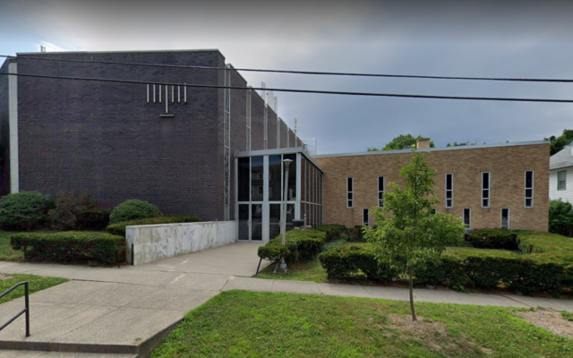 The Westville Synagogue in New Haven, Connecticut (Google maps)