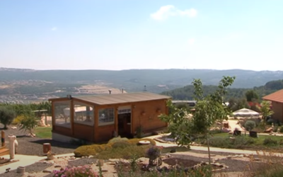 Illustrative: A guesthouse in northern Israel. (YouTube screenshot)