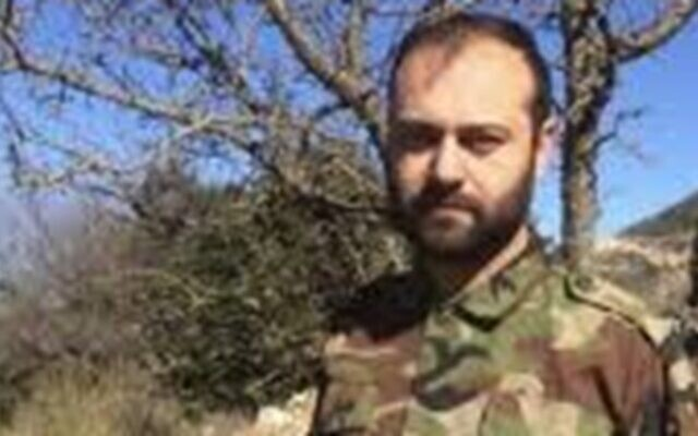 Ali Mohammed Younes, a Hezbollah commander reported killed by unknown assailants on April 5, 2020. (Fars News Agency)