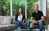 Lior Simon, left, and Gili Raanan, partners at cybersecurity VC fund Cyberstarts (Yossi Zliger)