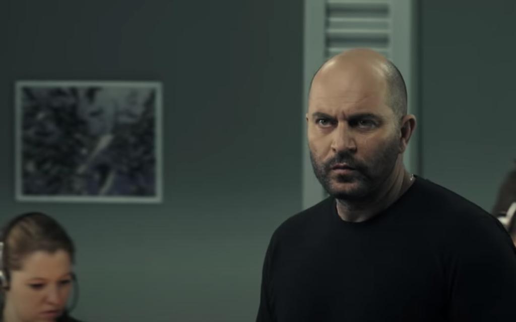 Lior Raz stars as Doron Kavillio in 'Fauda.' (Screen shot from YouTube/via JTA)