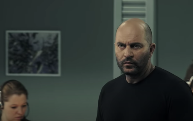Lior Raz stars as Doron Kavillio in 'Fauda.' (Screen shot from YouTube/via JTA)