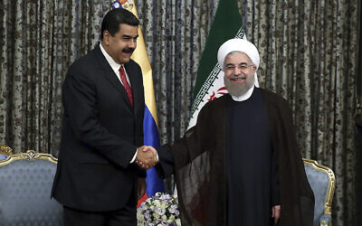 Iranian Tankers Carrying Gasoline Approach Venezuela