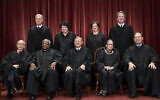 The justices of the US Supreme Court gather for a formal group portrait at the Supreme Court Building in Washington, Friday, Nov. 30, 2018. Seated from left: Associate Justice Stephen Breyer, Associate Justice Clarence Thomas, Chief Justice of the United States John G. Roberts, Associate Justice Ruth Bader Ginsburg and Associate Justice Samuel Alito Jr. Standing behind from left: Associate Justice Neil Gorsuch, Associate Justice Sonia Sotomayor, Associate Justice Elena Kagan and Associate Justice Brett M. Kavanaugh. (AP Photo/J. Scott Applewhite)