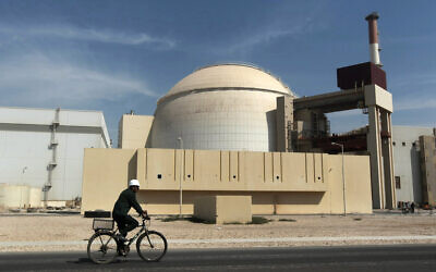 The Bushehr nuclear power plant outside the southern city of Bushehr, Iran. (AP Photo/Mehr News Agency, Majid Asgaripour, File)