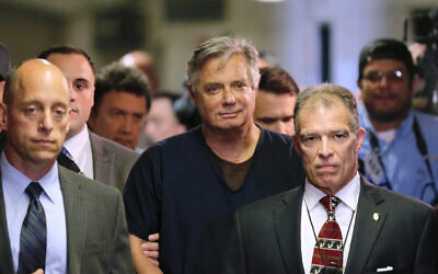 Paul Manafort arrives in court on June 27, 2019 in New York. (AP Photo/Seth Wenig)