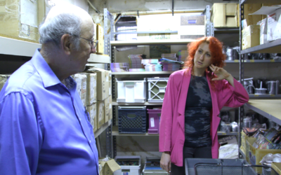 Barry Mason, left, and Rachel Mason in the documentary 'Circus of Books.' (Courtesy)