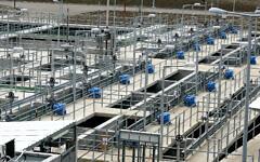 The Eshkol water filtration plant in northern Israel,  April 17, 2007. (Moshe Shai/FLASH90)