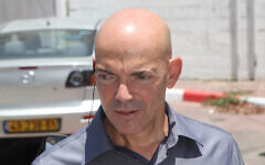Iron Dome inventor Dr. Danny Gold (Flash90)