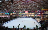 The Ice Mall in the southern city of Eilat on July 28, 2019. (Mendy Hechtman/Flash90)