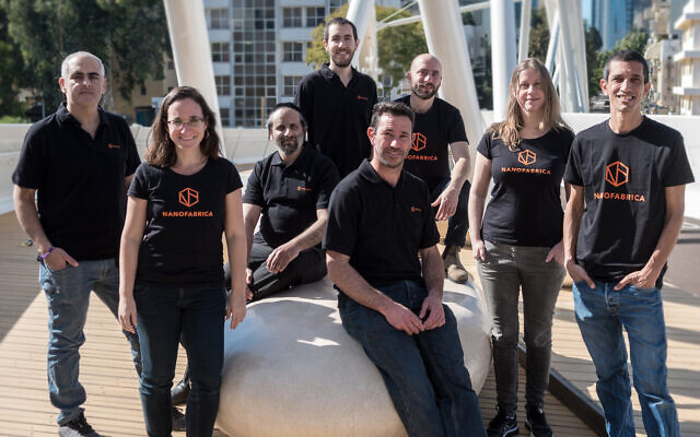 The Nanofabrica team (Idan Gil)
