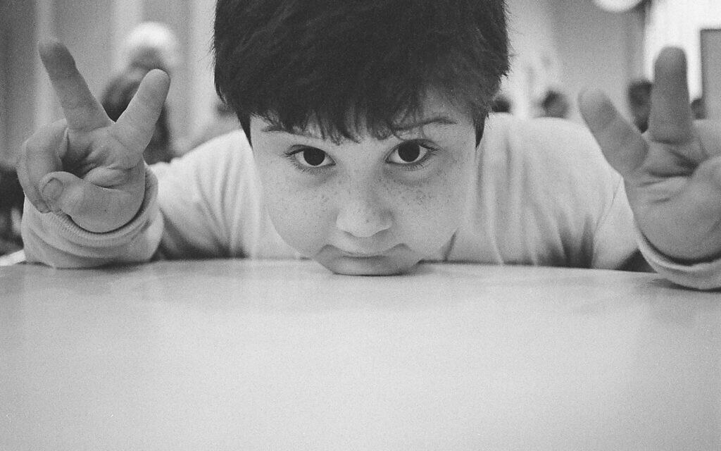 Sasha Joseph Neulinger as a young boy (Step 1 Films)
