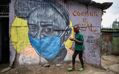 The Mathare slum of Nairobi, Kenya, April 18, 2020. (AP/Brian Inganga, File)
